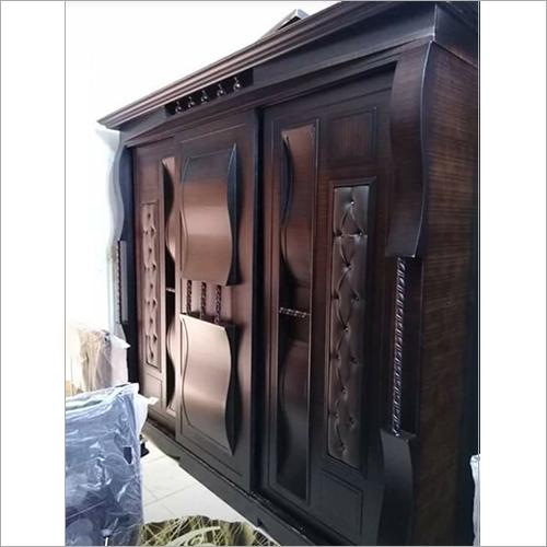 Wooden Handcrafted  Almirah
