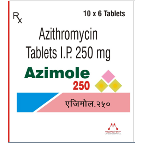250 mg Azithromycin Tablets I.P.