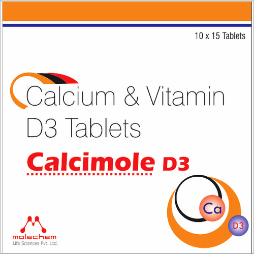 Calcium And Vitamin D3 Tablets