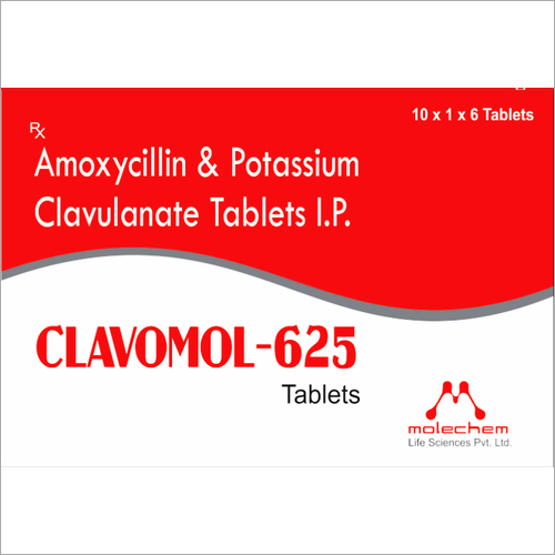 Amoxycillin And Potassium Clavulanate Tablets I.P