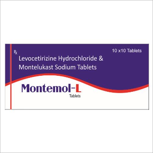 Levocetirizine Hydrochloride And Montelukast Sodium Tablets