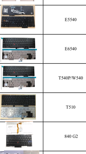 Laptop Keyboard All Models