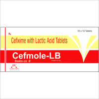 Cefixime with Lactic Acid Tablets