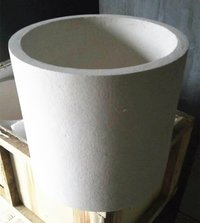 Alumina Crucible For Materials Melting Used Industrial Furnace