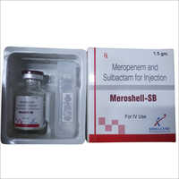 Meropenem and Sulbactam for Injection I.P.