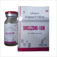 1000 mg Ceftriaxone for Injection I.P.