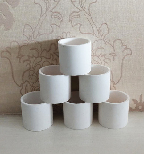 Alumina Ceramic Crucible For Materials Melting Used In Industrial Furnace