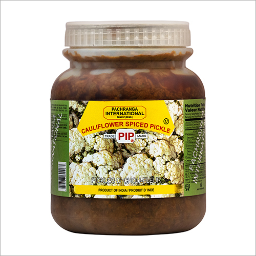 Cauliflower Spiced Pickle