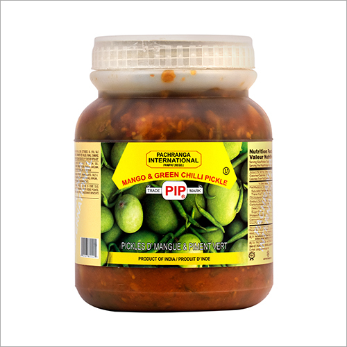 Mango and Green Chilli Pickle