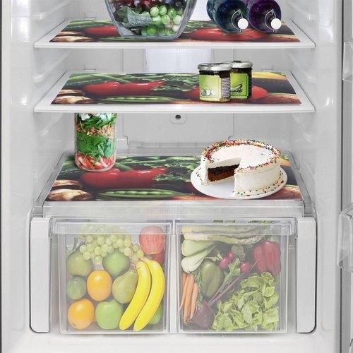 Vegetable Printed Fridge Mats