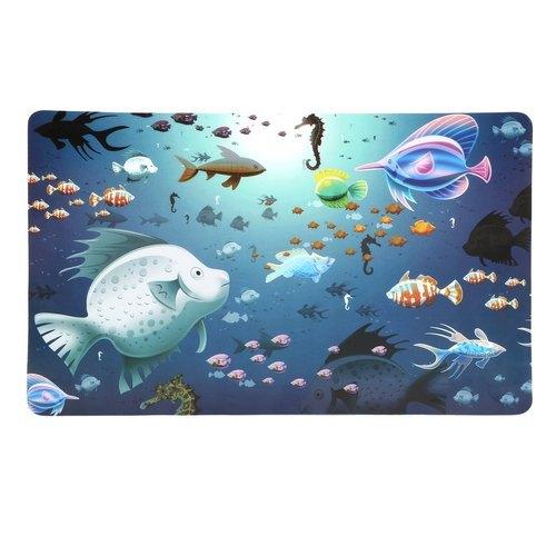 Multicolor Plastic Fridge Mat