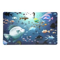 Multicolor Plastic Fridge Mat