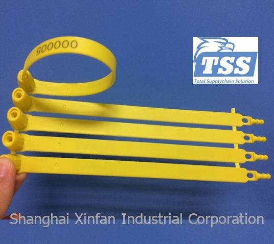 Fixed Length Plastic Safety Seals Plastic Truck Seals