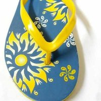 Printed Slipper
