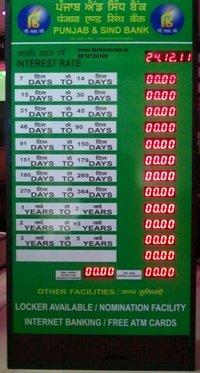 Bank Rate Display