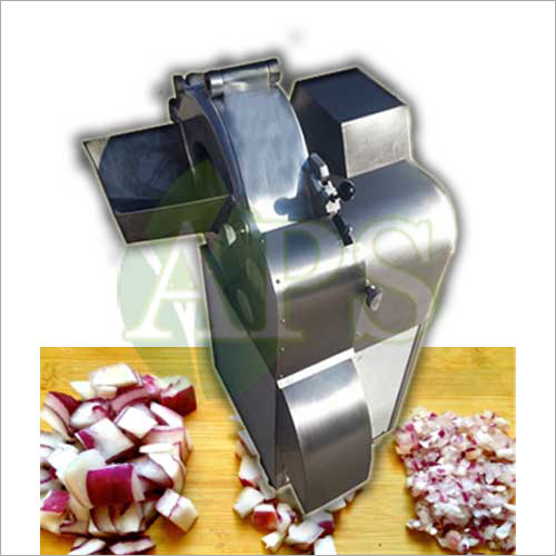 Onion Cube Cutting Machine