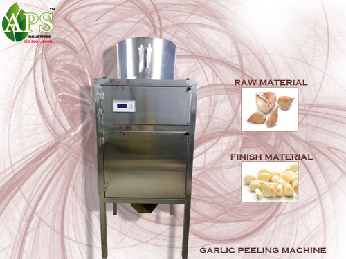 SS Garlic Peeling Machine