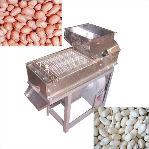 Nuts Peeling Machine