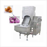 Red Onion Peeling Machine