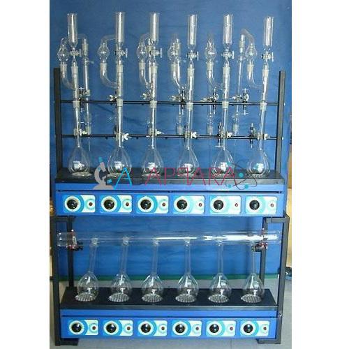 Kjeldhal Digestion & Distillation Units (Combind) Labappara