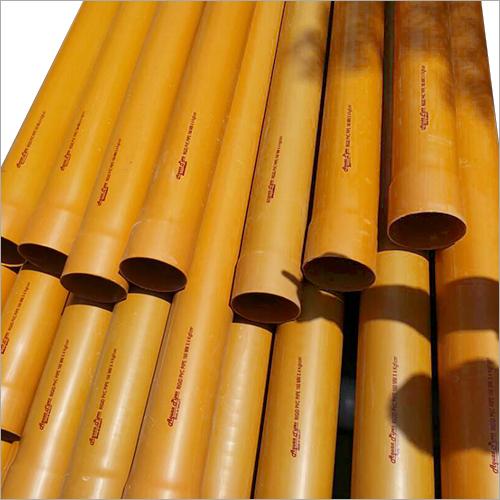 Rigid Water Drain PVC Pipes