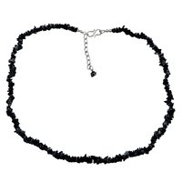 925 Sterling Silver- Handmade Jewelry Manufacturer Uncut Rough Snowflake Obsidian- Rolo-Chain- Jaipur Rajasthan India Single Strand Necklace
