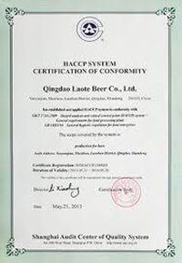 HACCP System Certification