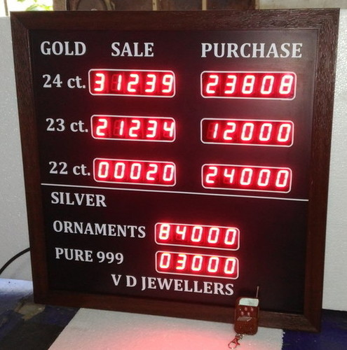 Gold Rate Display