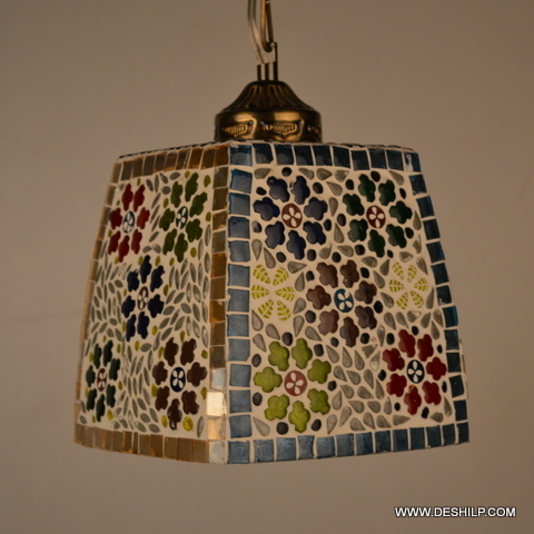 Squire Glass Mosaic Wall Hanging