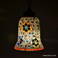 SMALL WALL HANGING LAMP GLASS MADE