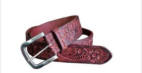 Designer Brown Leather Belt