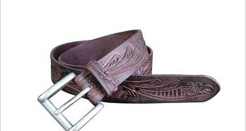 Brown Leather Belt For Girls