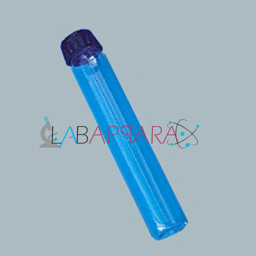 Tubes, Culture, Media, Flat Bottom, with Screw Cap and PTFE liner