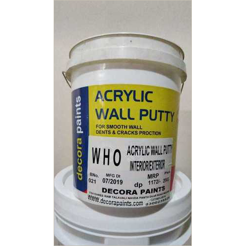 Who Garade Acrylic Wall Putty