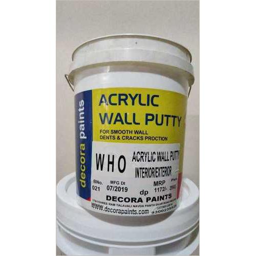 Who Garade Acrylic Wall Putty