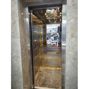 6 Persons Stainless Steel Residential Elevator