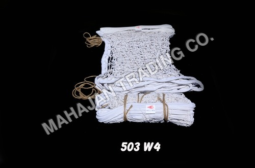 HEAVY WHITE VOLLEY BALL NET COTTON