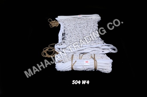 EXTRA THICK WHITE VOLLEY BALL NET COTTON