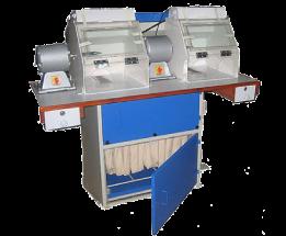 Vacuum buff polishing machine