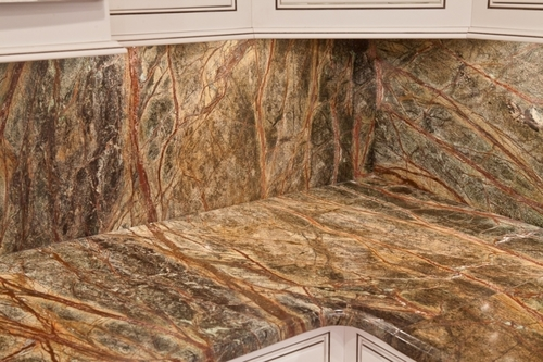 Rainforest Brown Marble Slabs And Tiles