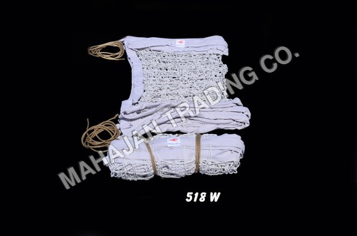 Y.M.C.A. HEAVY WHITE VOLLEY BALL NET COTTON