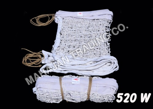 Y.M.C.A. EXTRA THICK WHITE VOLLEY BALL NET COTTON