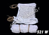 Y.M.C.A. THICK WHITE VOLLEY BALL NET COTTON