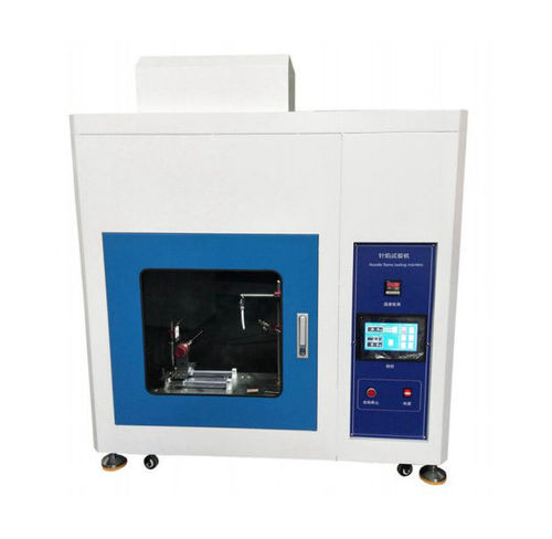 High Accuracy IEC60695 Needle Flame Test Machine For Insulating Materials