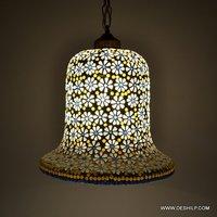 HANGING GLASS DECOR WALL LAMP