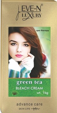 EVE-N LUXURY BLEACH CREAM GREEN TEA 1 KG