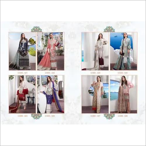 Pure cotton Semistich Suits