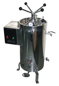 Vertical Triple Walled High Pressure Radial Lock Autoclave