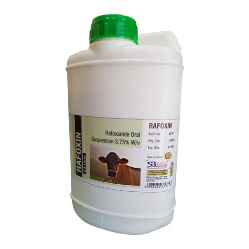 RAFOXANIDE ORAL SUSPENSION 3.75% W/V