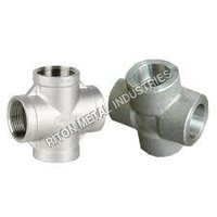 Duplex Steel Cross Pipe Fittings